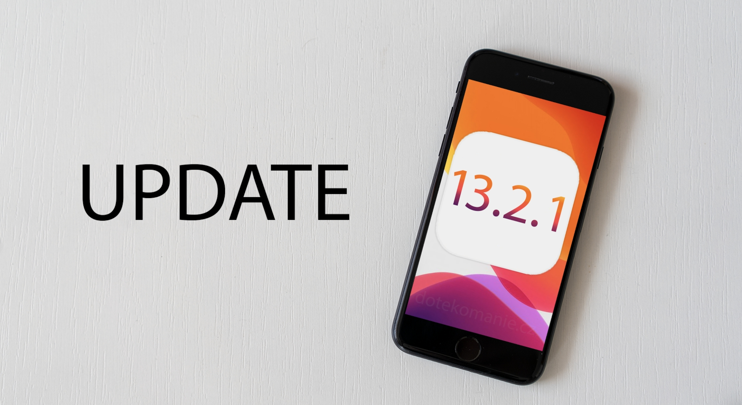 Apple vydal opravný balíček iOS 13.2.1 pro HomePod
