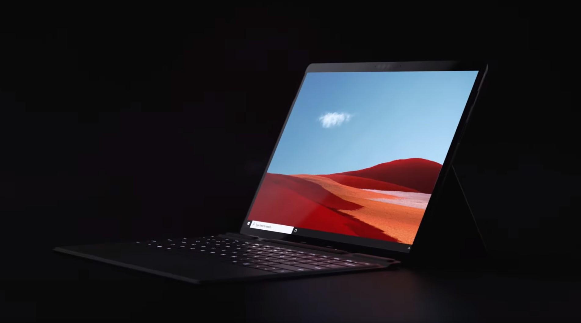 Surface Pro X je nový tablet od Microsoftu, disponuje procesorem SQ1