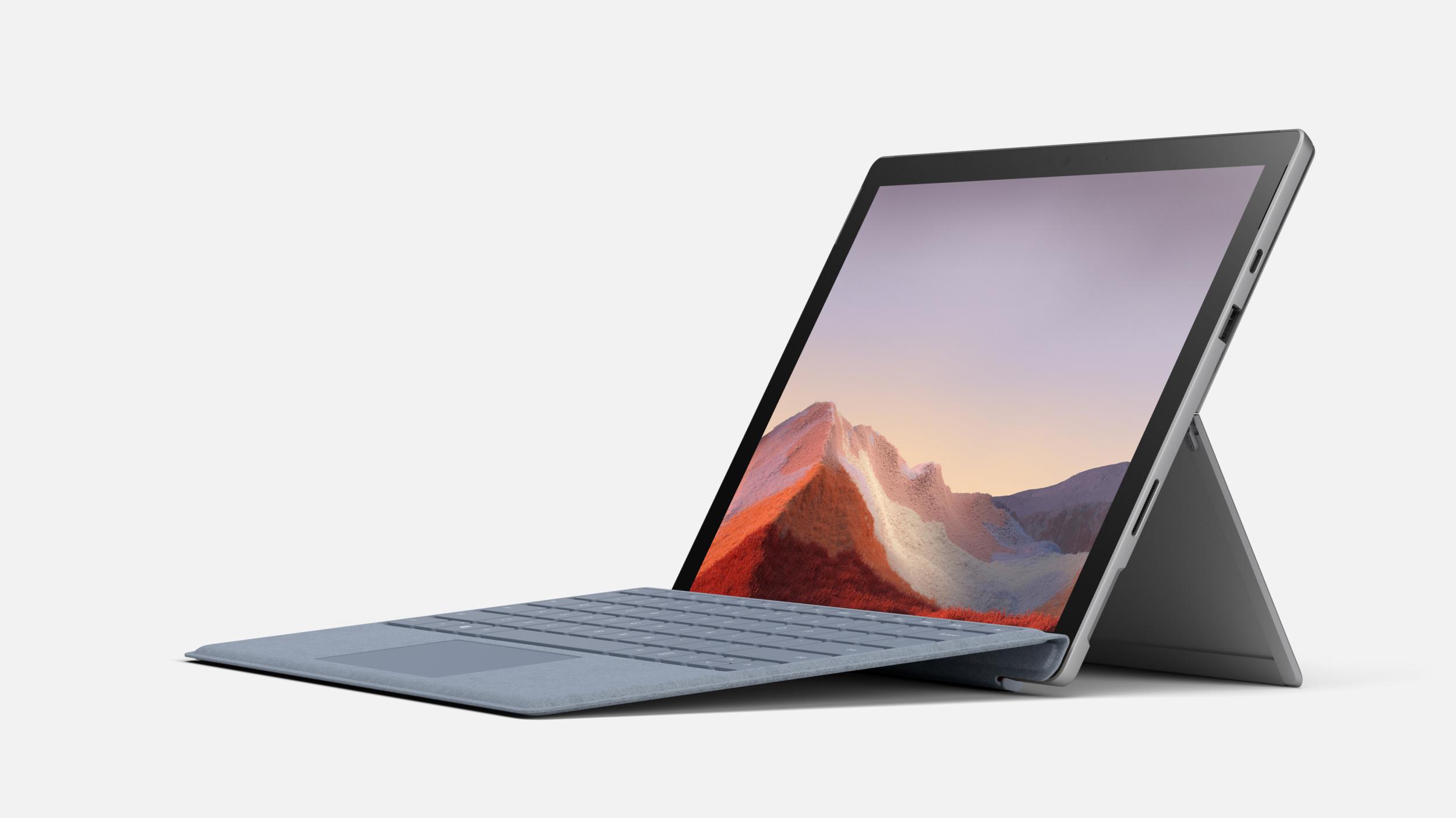 Microsoft Surface Pro 7 představen, konečně s USB C