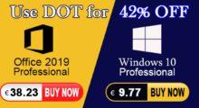 Windows 10 Pro a Office 2019 Pro nyní za zlomek ceny! [sponzorovaný článek]