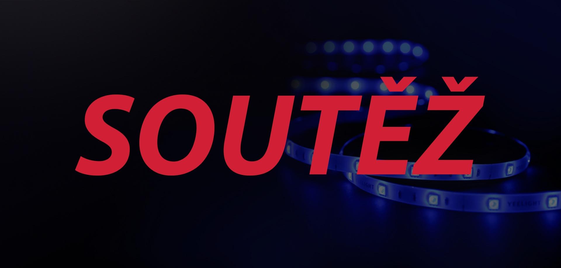 Chytrý LED pásek Yeelight LED Lightstrip Plus vyhrává… [soutěž]
