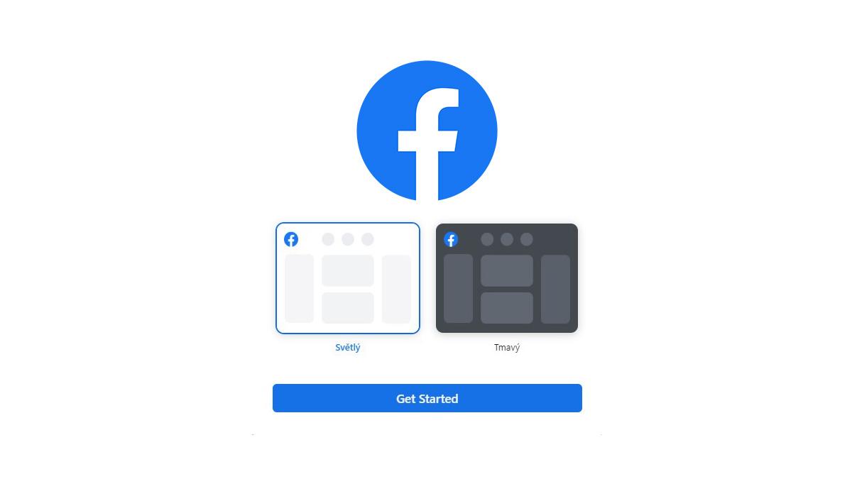 Facebook testuje tmavý vzhled, ale zatím jen na webu