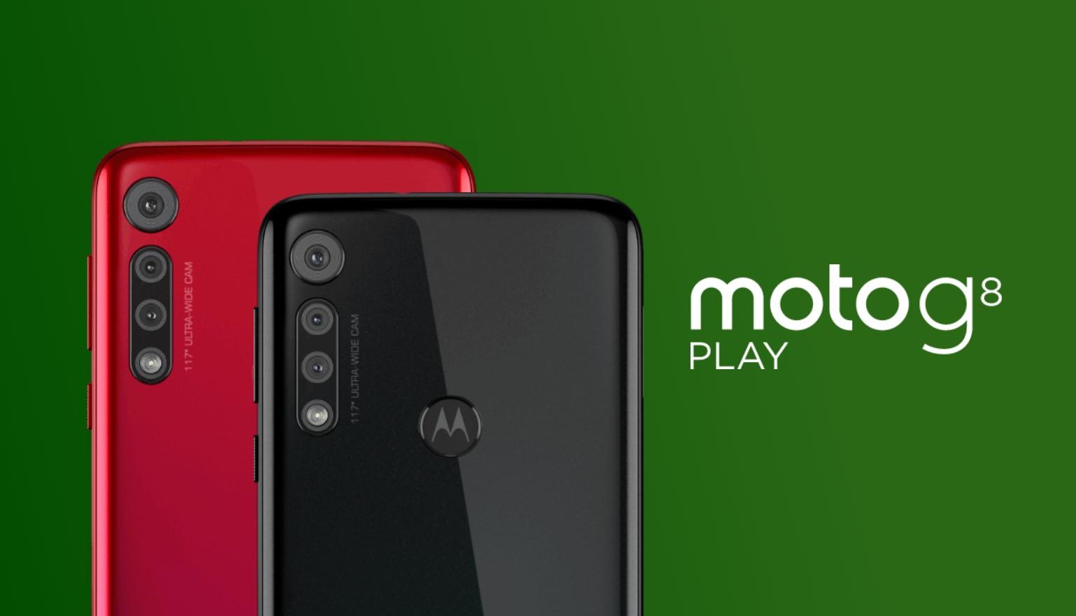 Moto G8 Play oficiálně, láká na baterii a akční kameru [aktualizováno]