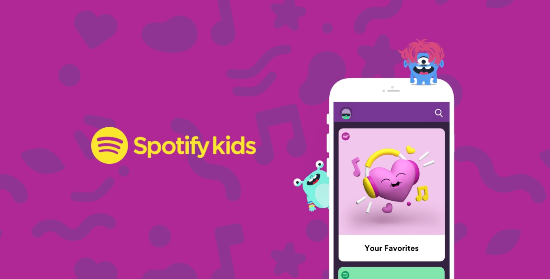 Spotify Kids je nová aplikace pro děti