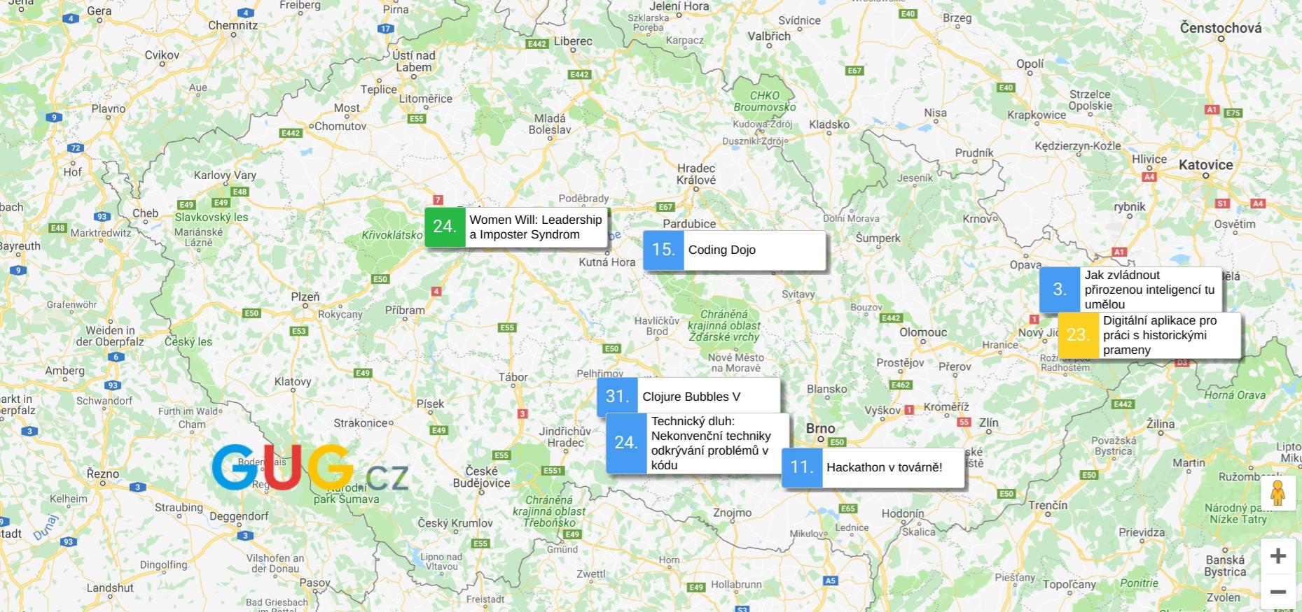GUG.cz zve na technologicky zaměřené akce [říjen]