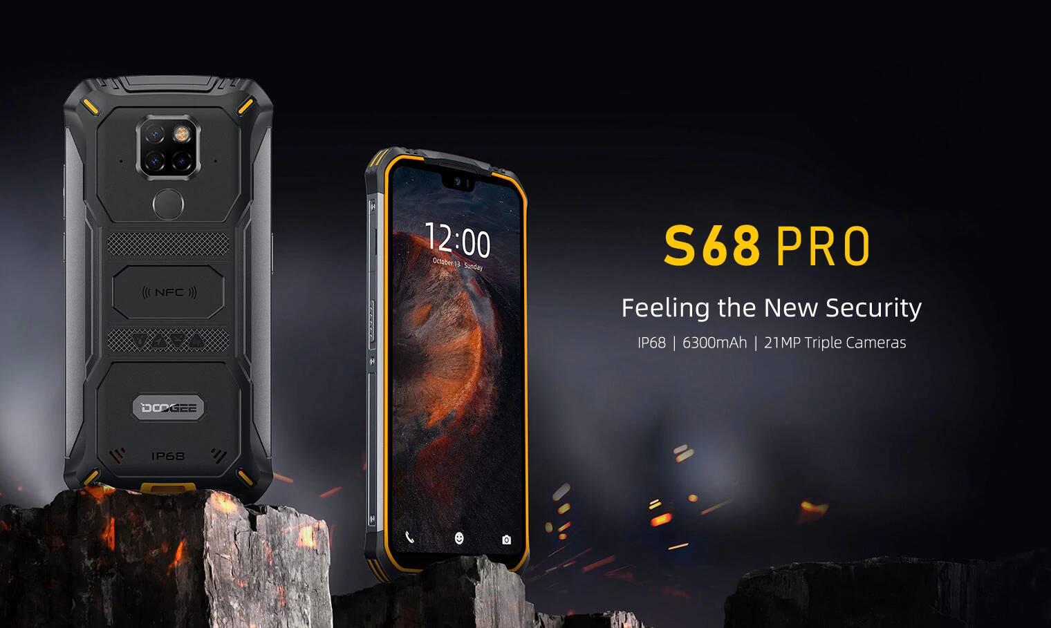 Novinka Doogee S68 Pro by se dala nazvat tankem mezi mobily