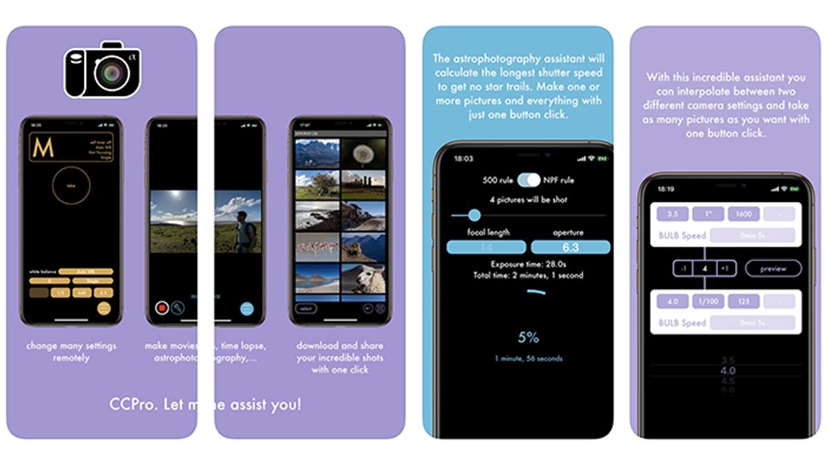 iOS aplikace CCPro pro ovládání Sony fotoaparátů byla aktualizována