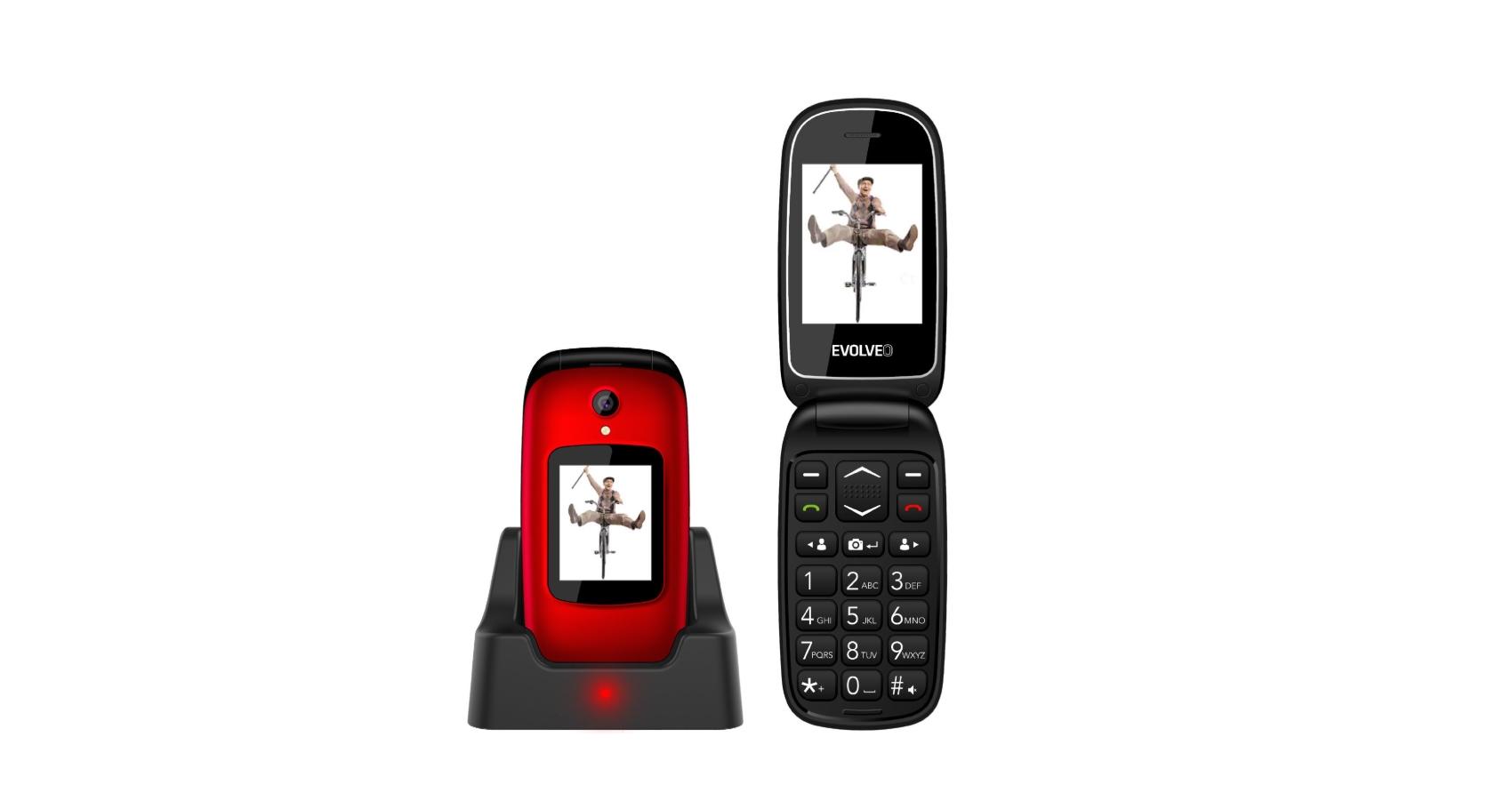EasyPhone FD je tlačítkové véčko pro seniory, stojí 890 Kč