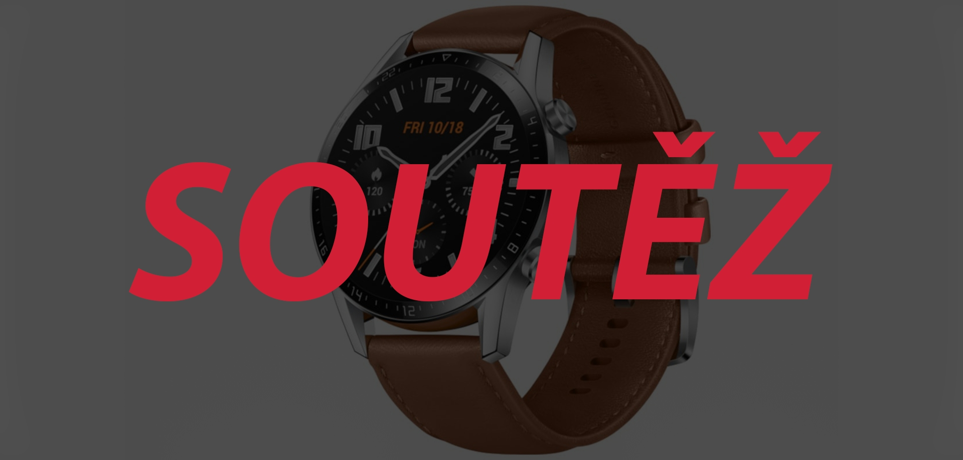 Huawei Watch GT 2 v hodnotě 5 990 Kč vyhrává… [aktualizováno]
