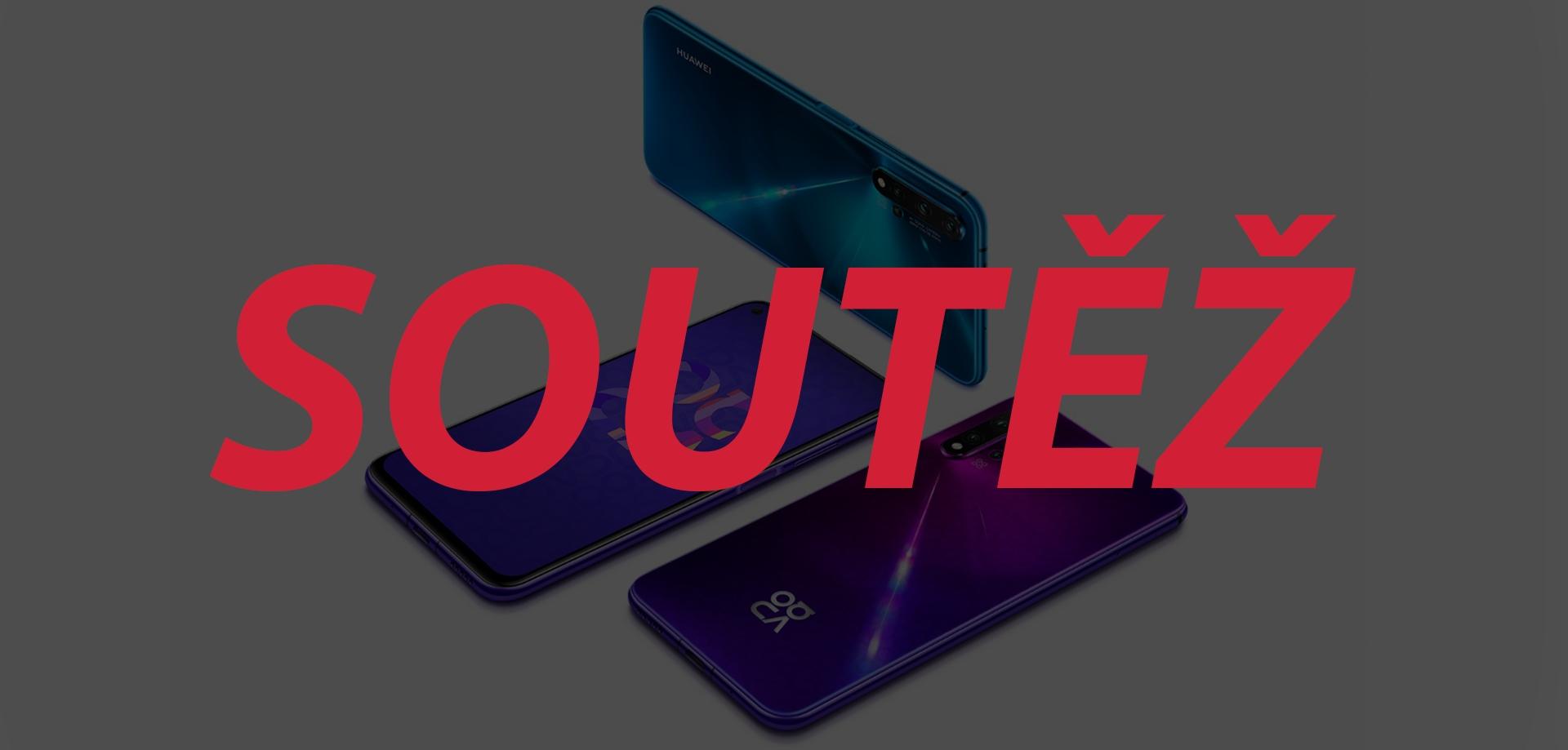 Soutěž o Huawei nova 5T vyhrává… [aktualizováno]