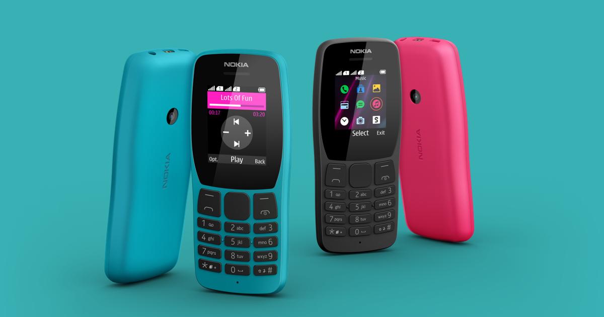 Nová Nokia 110 láká na 18denní výdrž