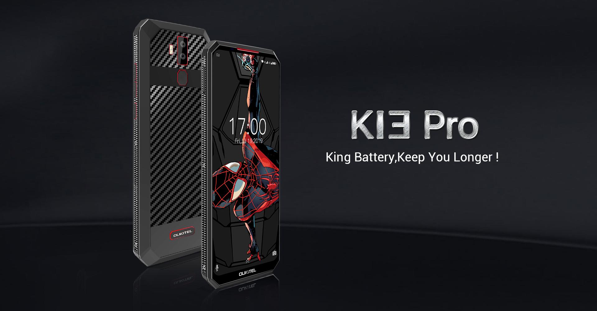 Oukitel K13 Pro překvapí 11 000mAh baterií