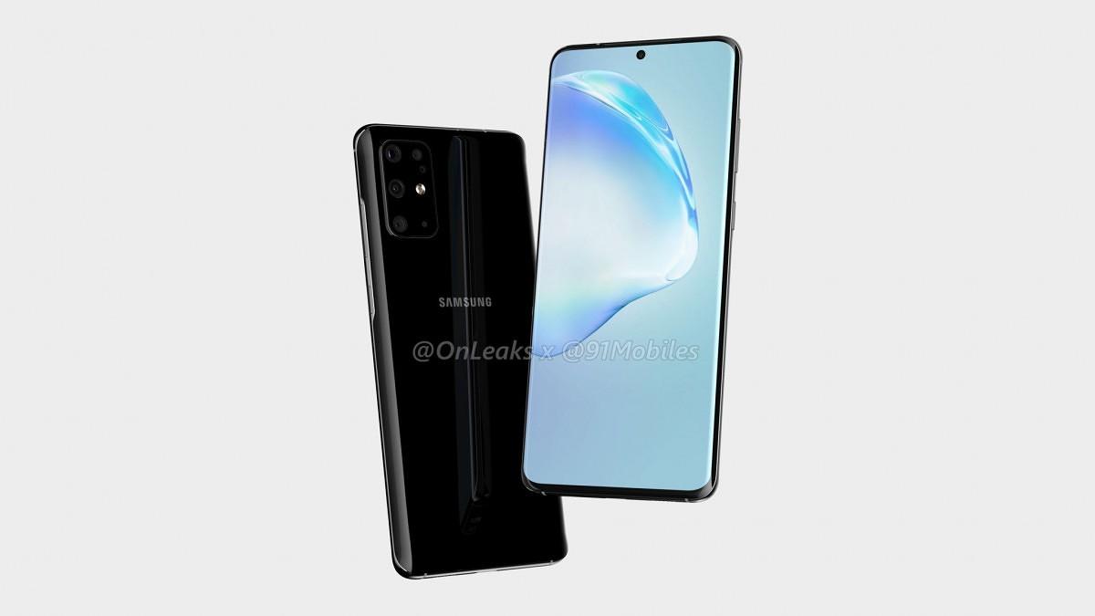 Samsung Galaxy S20+ na prvním videu [aktualizováno]