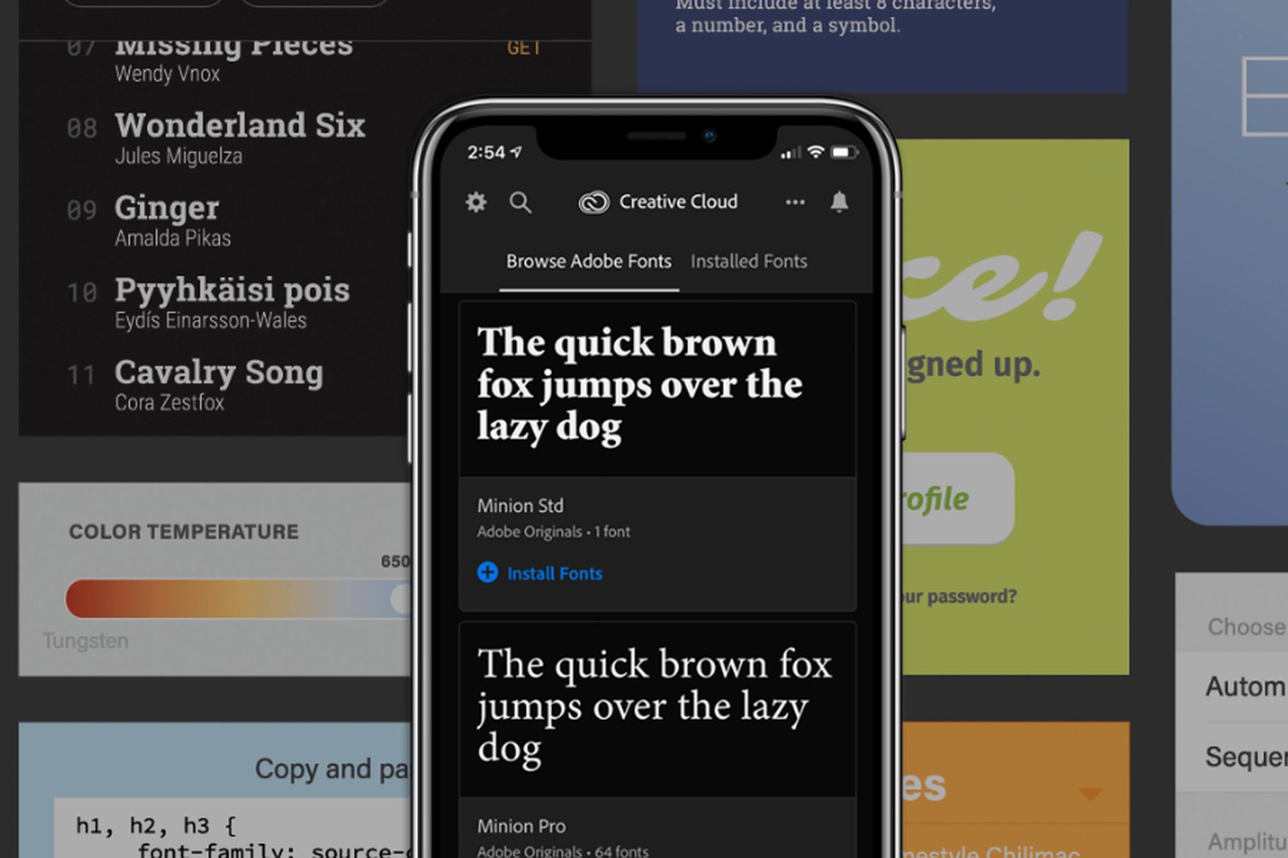 iOS zařízení se dočkala tisíce nových fontů od Adobe