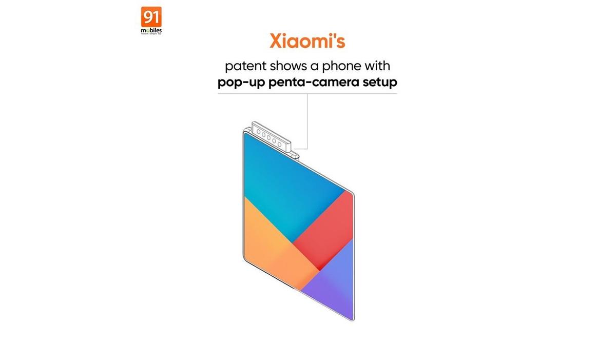 Xiaomi možná pracuje na skládacím telefonu s pěticí fotoaparátů