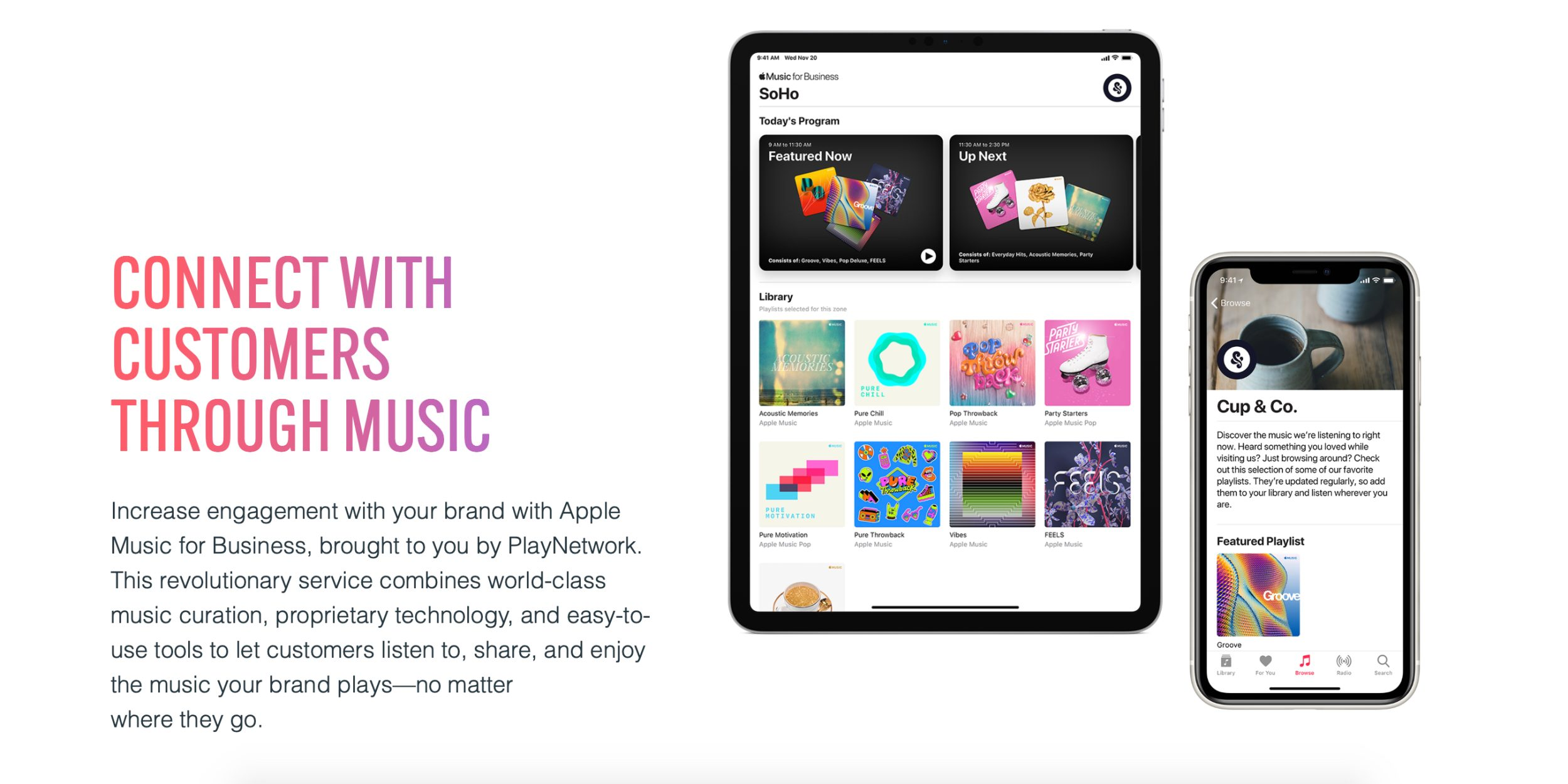Apple spustil službu Apple Music for Business