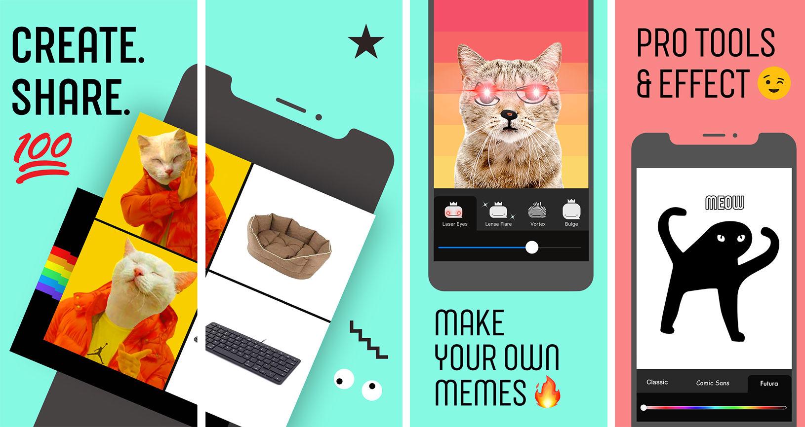 Facebook vydal aplikaci Whale pro vytváření memes