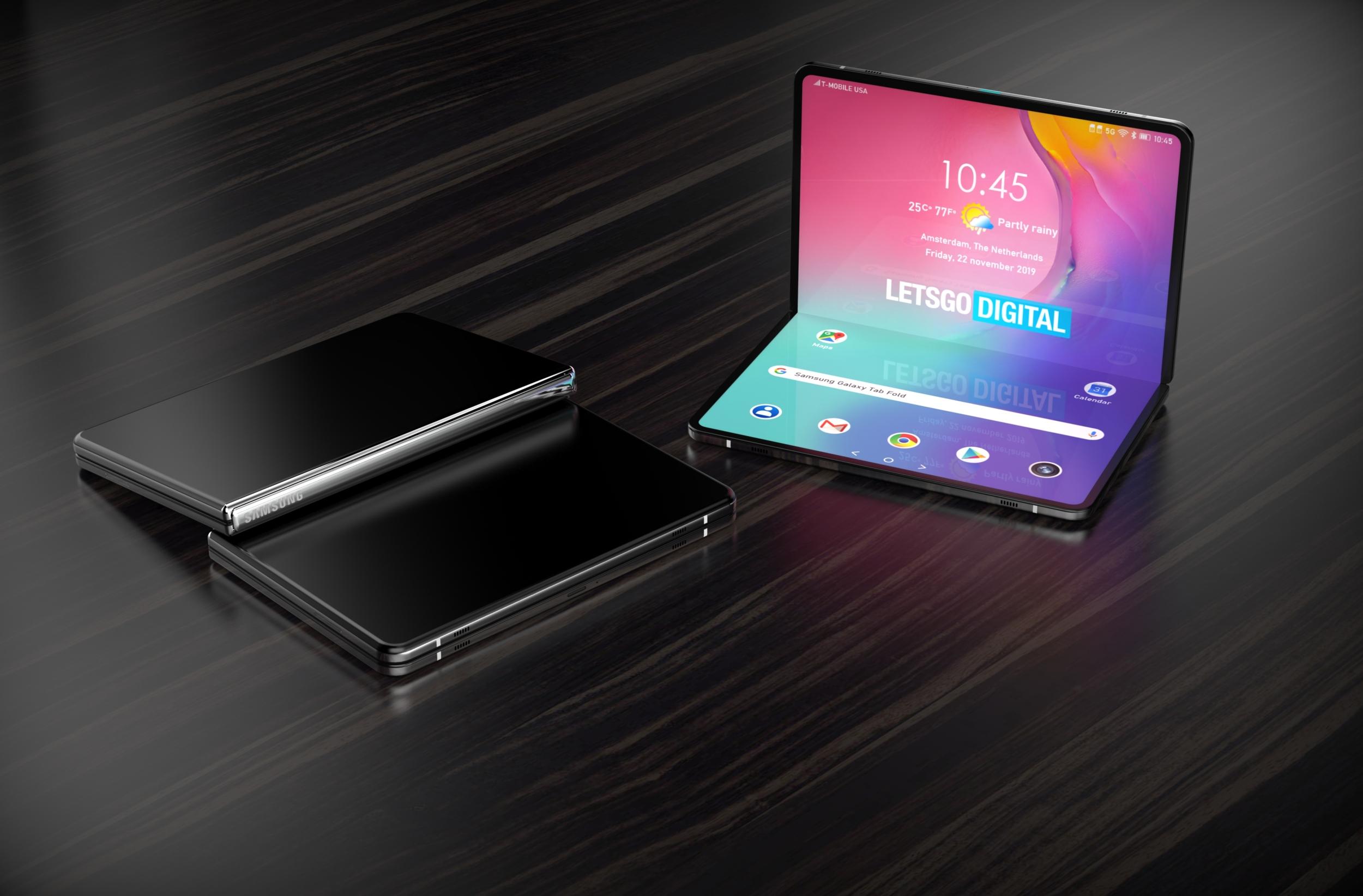 Samsung možná nabídne ohebný tablet