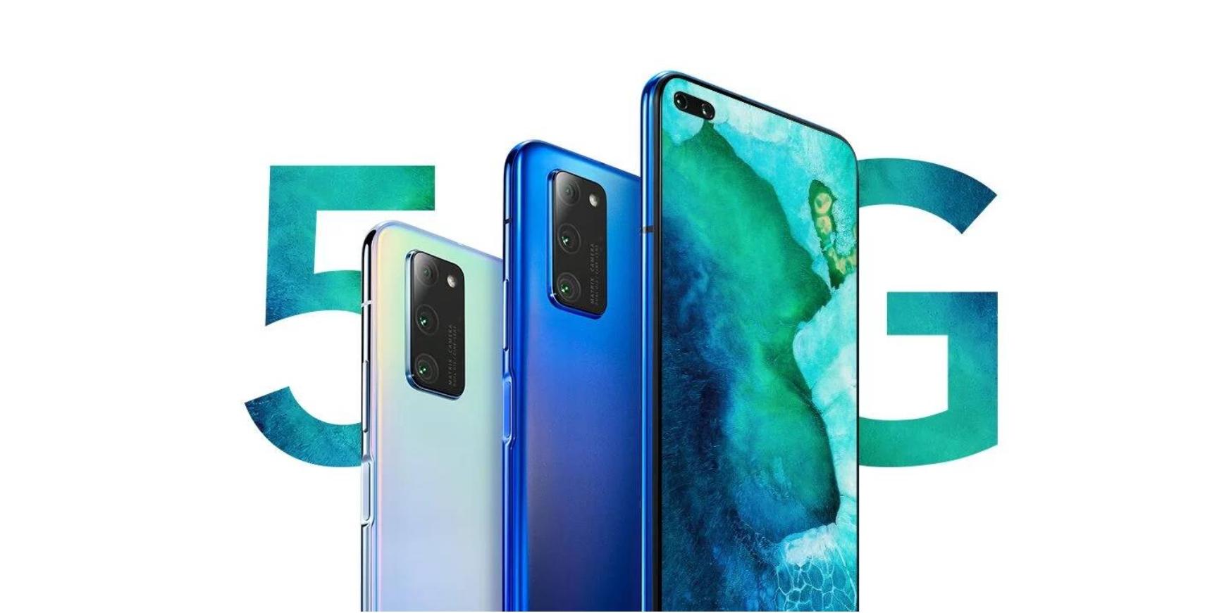 Honor V30 (Pro) oficiálně, 5G a megapixely v hlavní roli