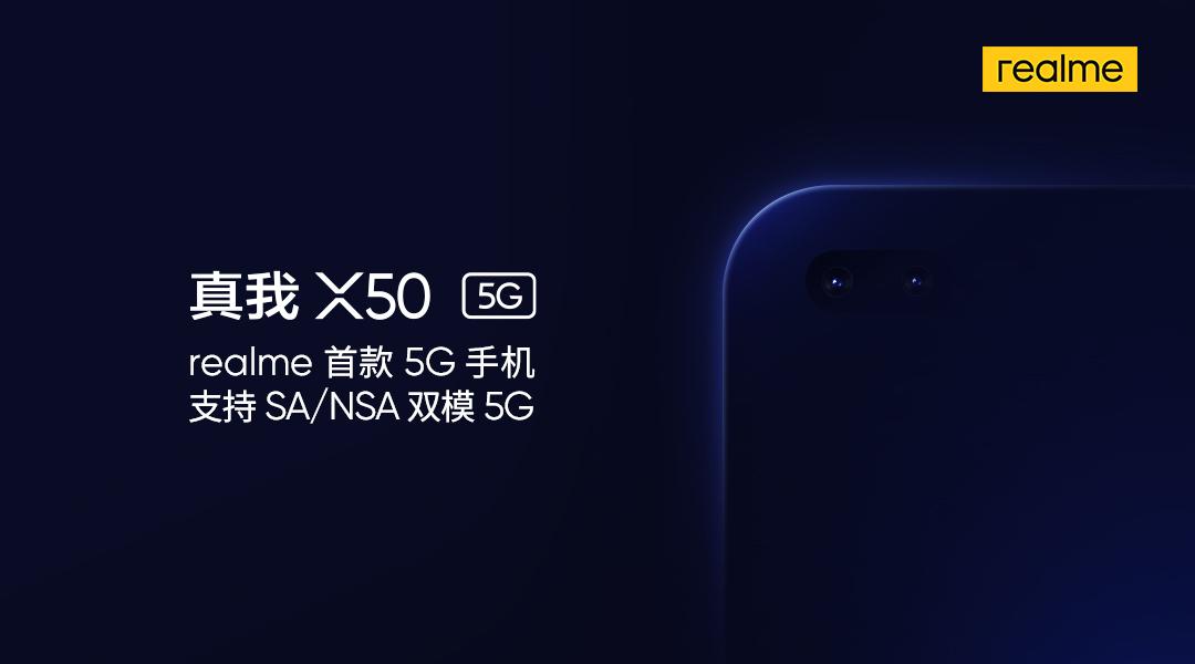 Chystá se Realme X50, nabídne 5G konektivitu
