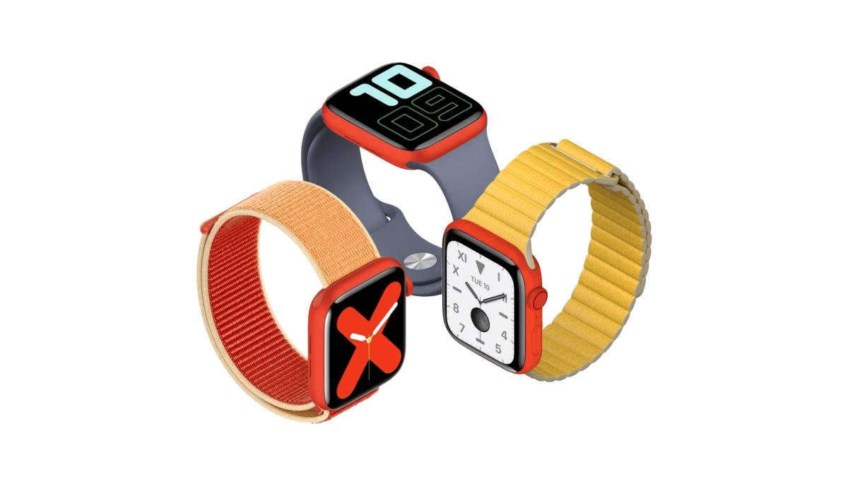Apple Watch Series 5 (PRODUCT)RED na obzoru