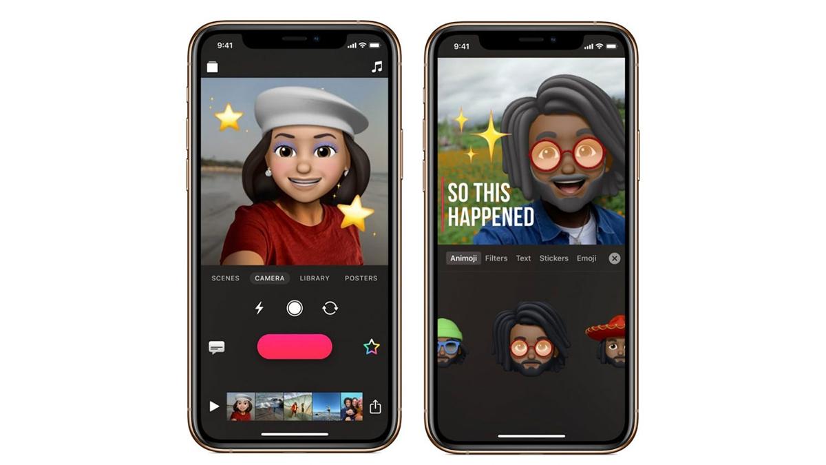 Apple aktualizuje aplikaci Clips