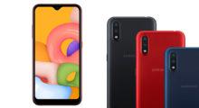 Galaxy A01 je novinka od Samsungu