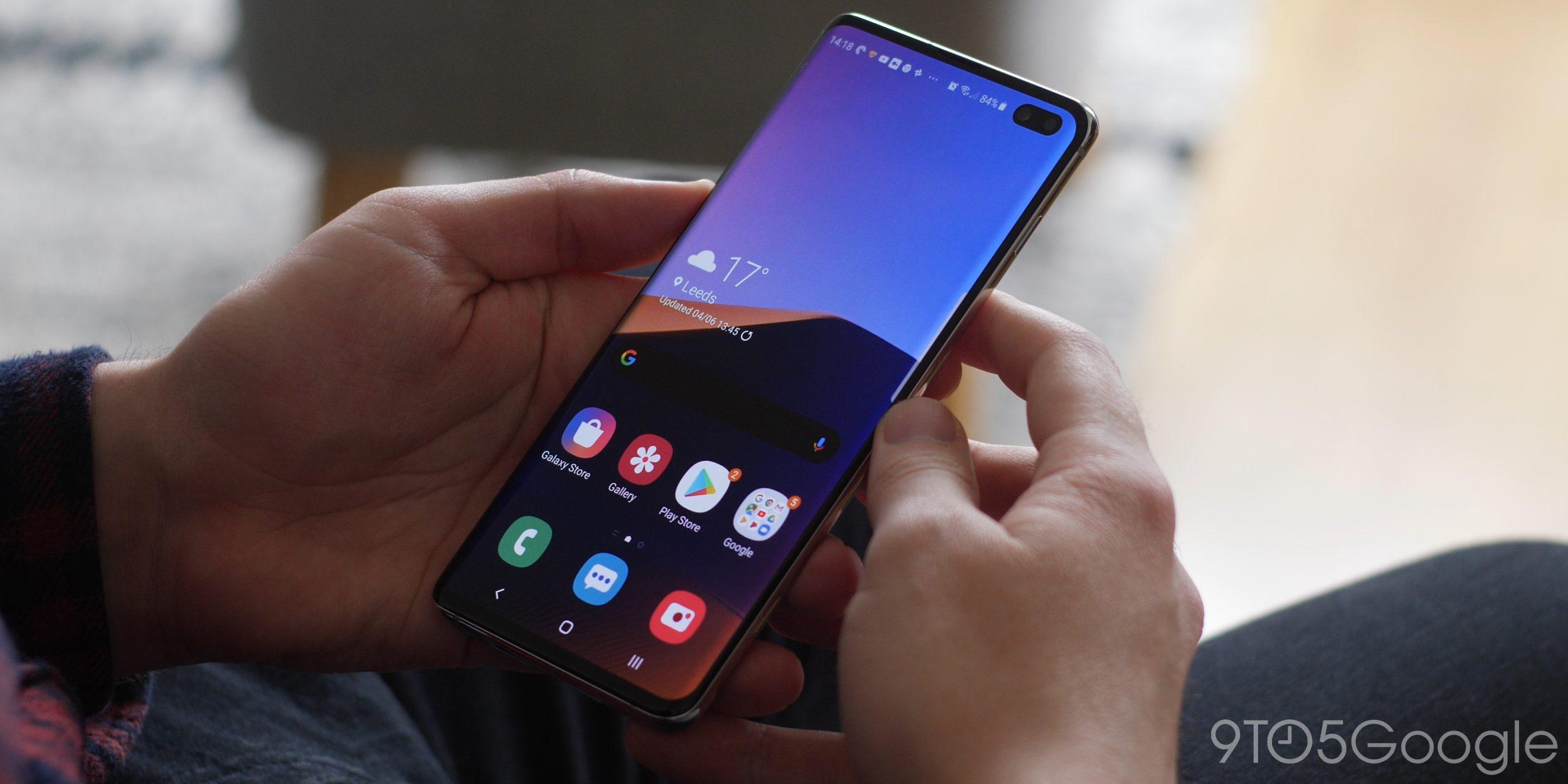 Galaxy Store se dočkal nového menu a tmavého režimu