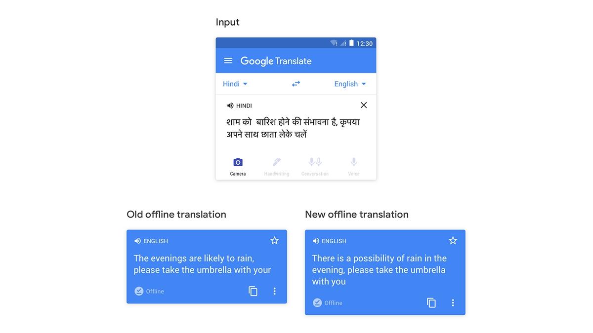 Google Překladač vylepšuje offline překlady