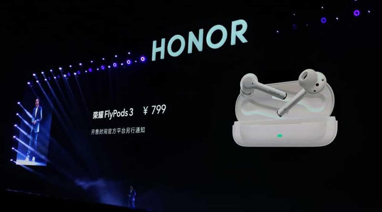 Honor oficiálně oznámil sluchátka FlyPods 3