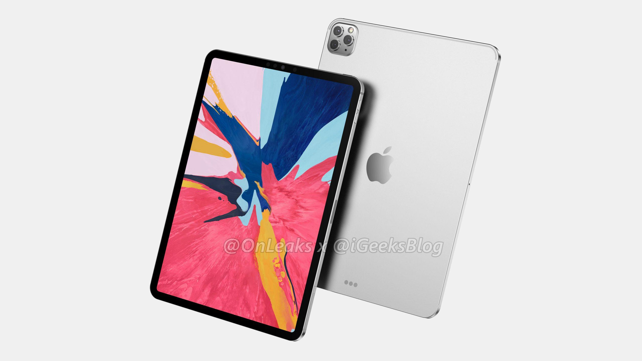 iPad Pro bude mít více fotoaparátů