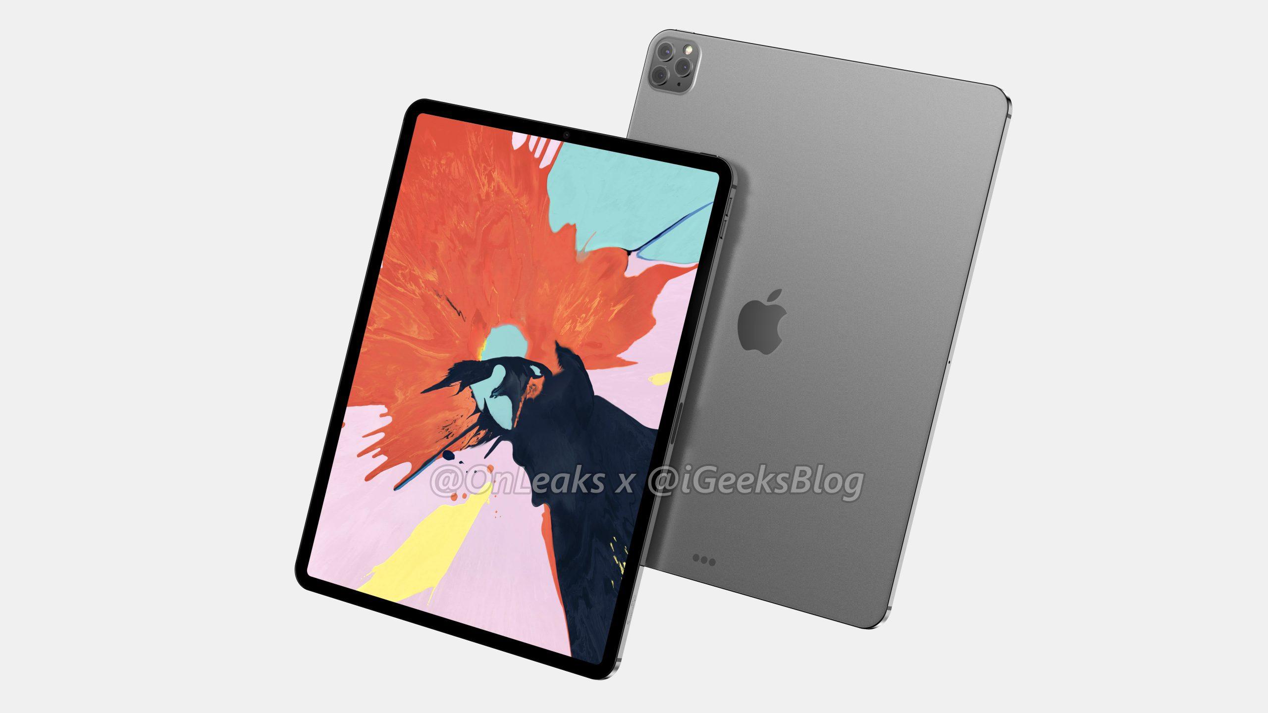 Nový iPad Pro s 3D fotoaparátem již ve výrobě