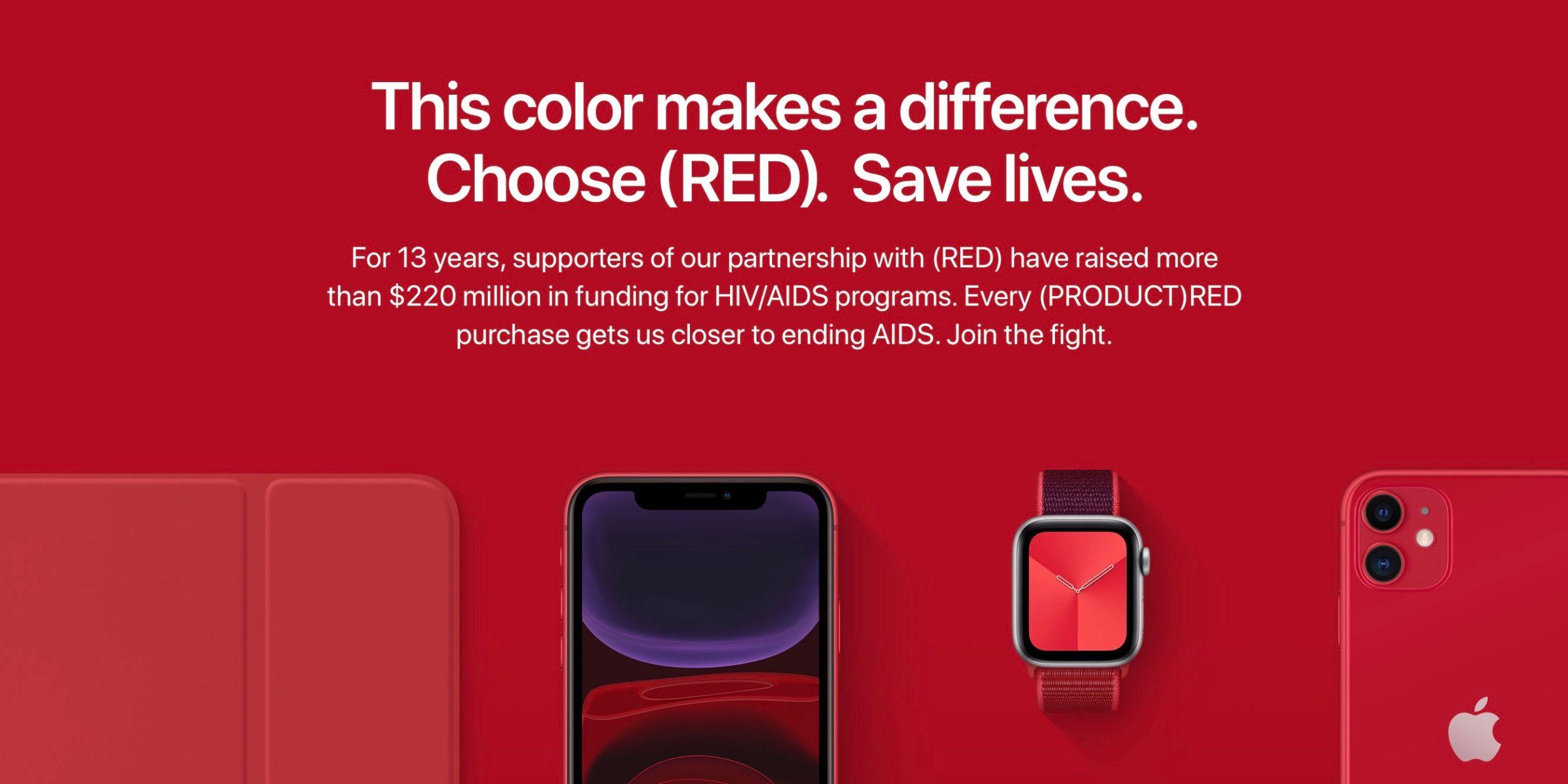 Apple chce s (RED) vytvořit generaci bez AIDS