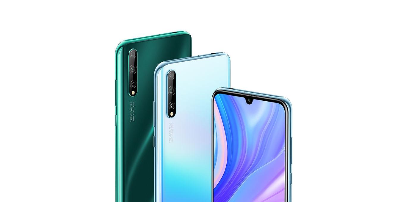 Huawei Enjoy 10S je novinka střední třídy se čtečkou otisků v displeji