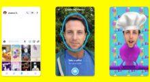 Snapchat Cameos: nová funkce pro vytváření GIFů s vaším obličejem