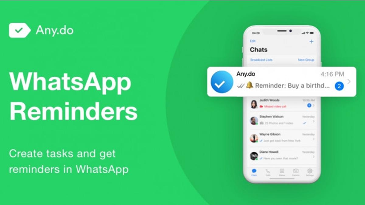 WhatsApp bude nyní fungovat i jako úkolníček