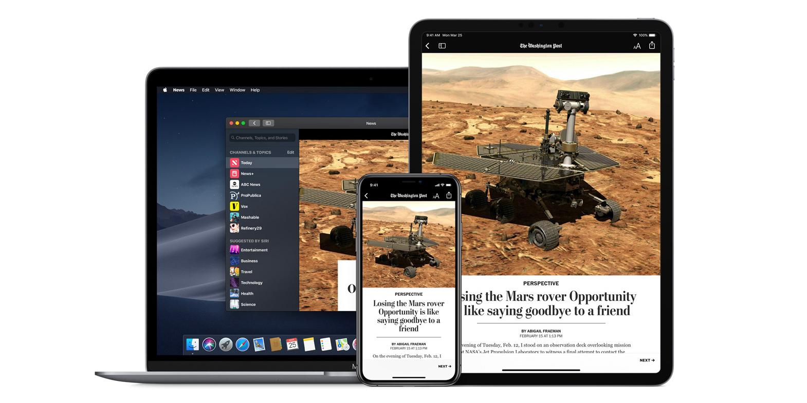 Apple News přináší denní e-mailový newsletter