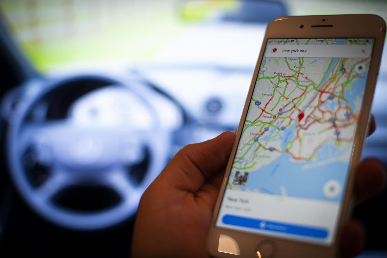Google Mapy mohou brzy nabídnout funkci pro bezpečnější trasy