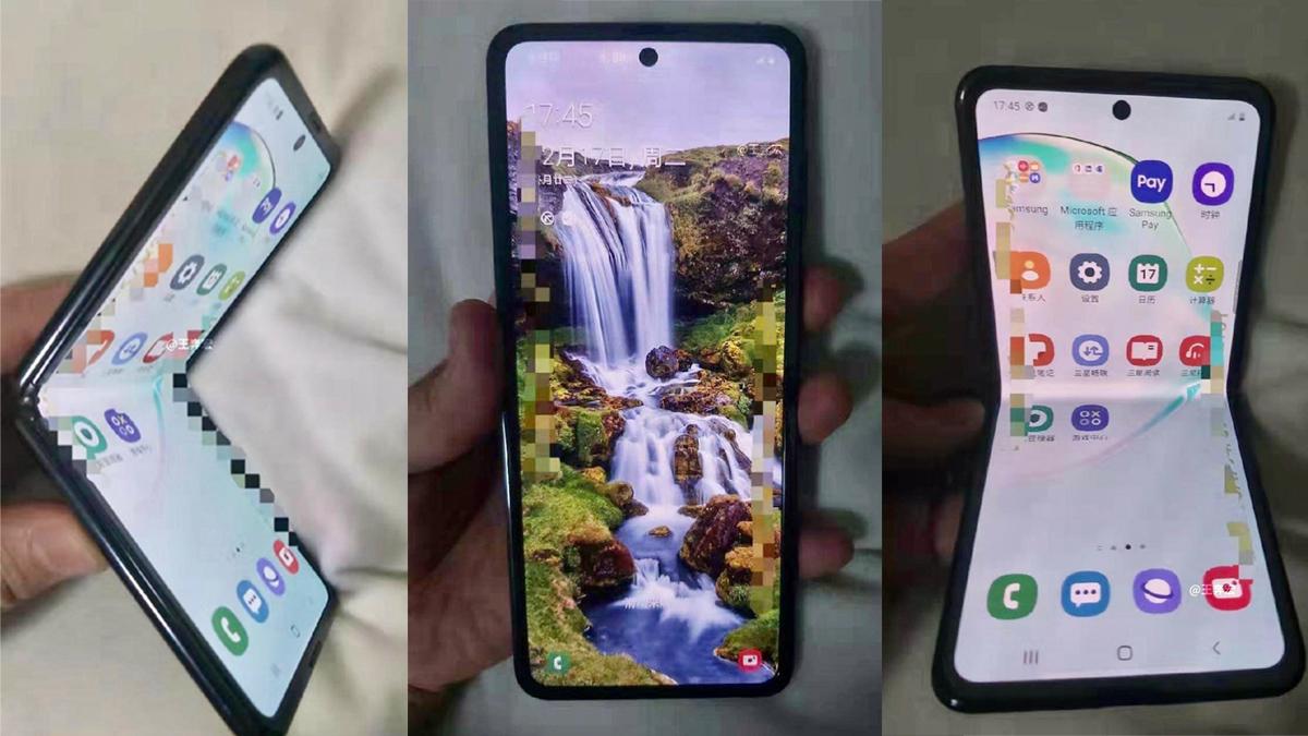 Ohebný Samsung Galaxy Z Flip nabídne větší baterii než Motorola Razr [aktualizováno]