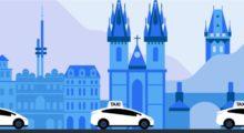 Uber Taxi přichází do Česka