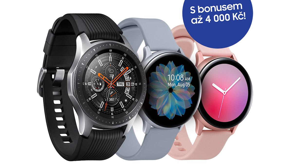 Obměňte své hodinky za nové Samsung Galaxy Watch a získejte až 4000 Kč zpět! [sponzorovaný článek]