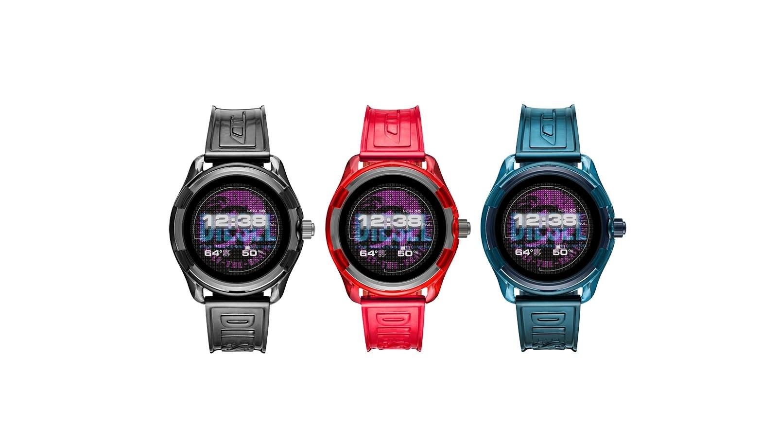 Diesel Fadelite jsou nové chytré hodinky s poloprůhledným tělem [CES]