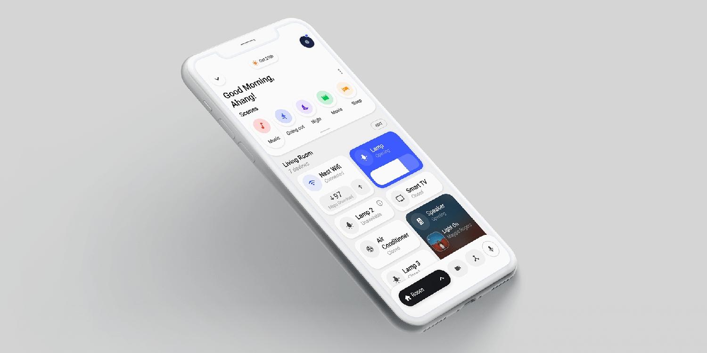 Aplikace Home na novém studentském konceptu