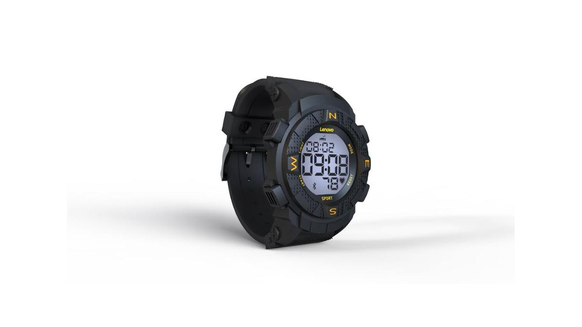 Lenovo představilo chytré hodinky Ego HX07 s monochromatickým displejem