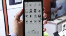 Onyx představil další prototyp telefonu s e-ink displejem [CES]