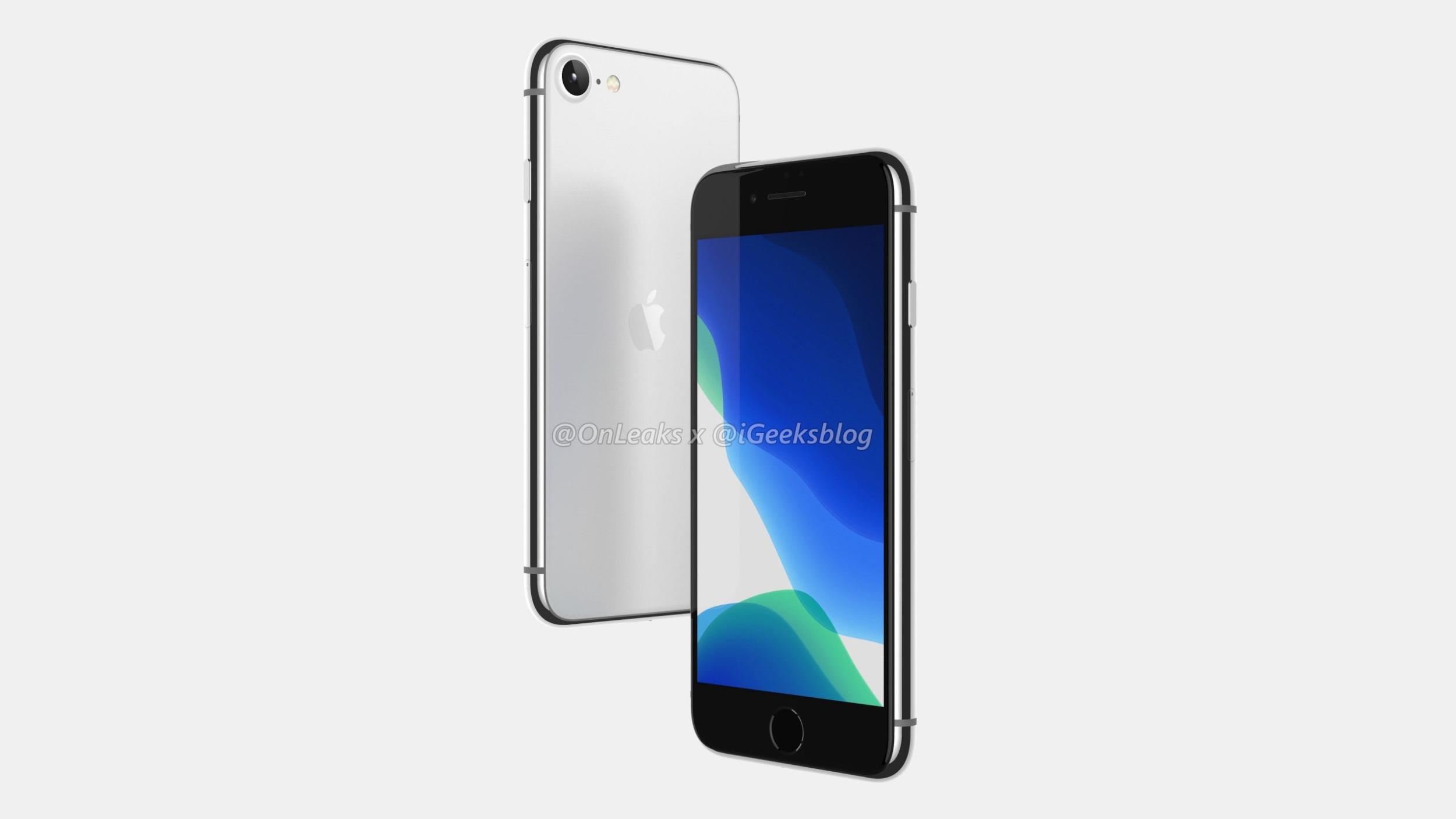 Takto by mohl vypadat dlouho spekulovaný iPhone SE 2