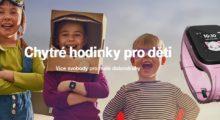 Už i T-Mobile nabízí chytré hodinky pro děti