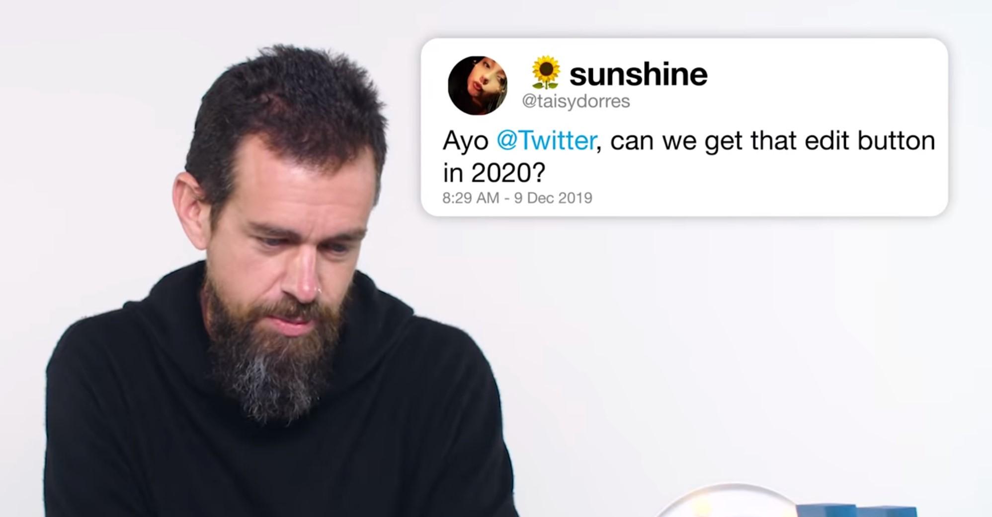 Twitter nenabídne možnost editování, vzkazuje Jack Dorsey