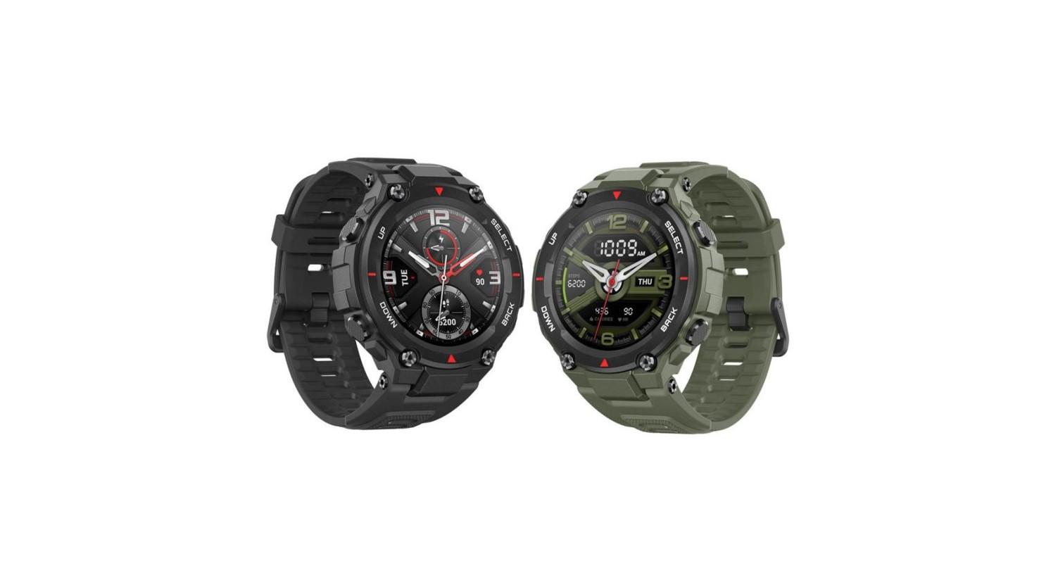 Chytré hodinky nově v obchodech – Amazfit T-Rex, Watch Magic 2