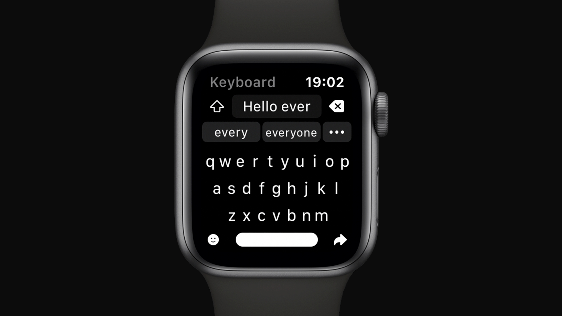 Shift Keyboard je speciální klávesnice pro Apple Watch